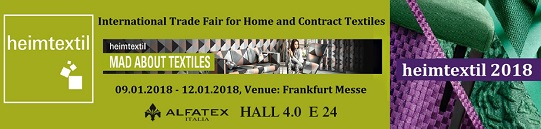 HEIMTEXTIL - FRANKFURT MESSE - GERMANY 2018