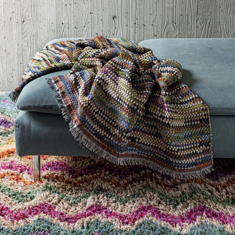 Missoni Home Venere Plaid