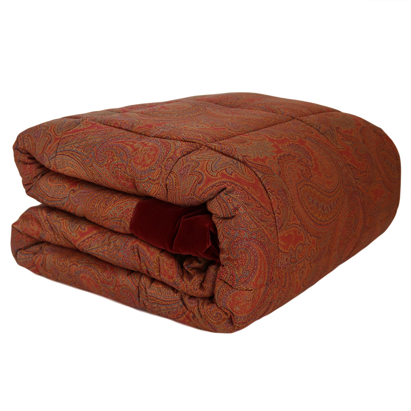 Etro Quilted Bedcover Trapunta Matrimoniale