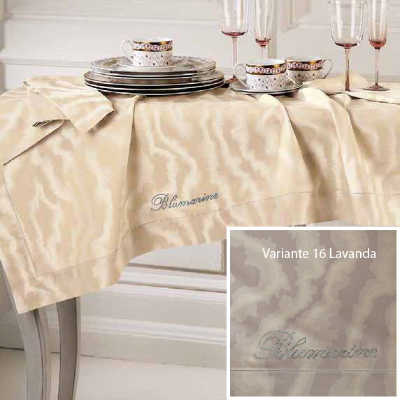 Blumarine Home Collection set tovaglia Imperial con 12 tovaglioli