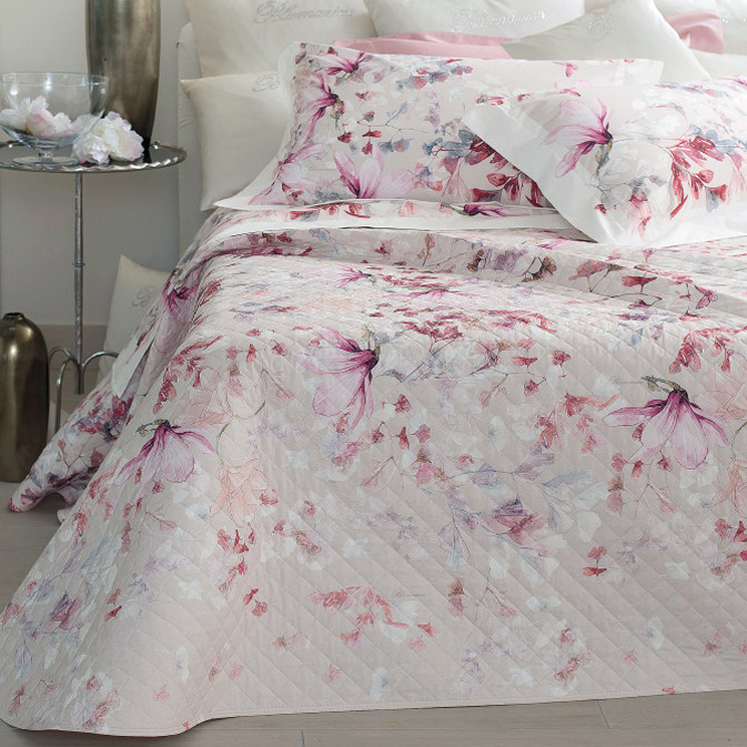Blumarine Home Collection Magnolia Copriletto Matrimoniale