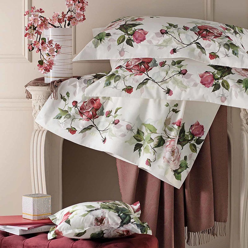 Blumarine Home Collection Adele Completo Lenzuola Matrimoniale