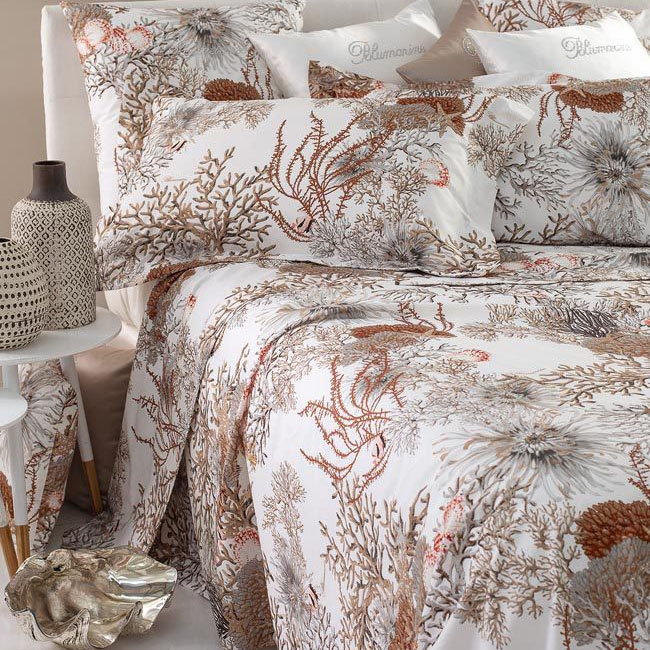 Blumarine Home Collection Polinesia Completo Lenzuola Matrimoniale