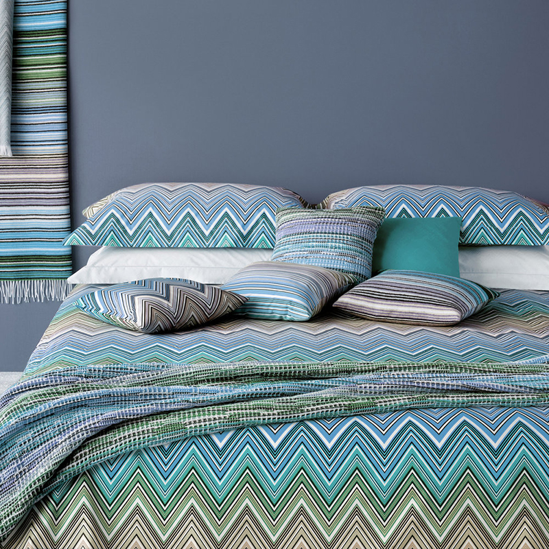 Missoni Home Trevor Copriletto Matrimoniale