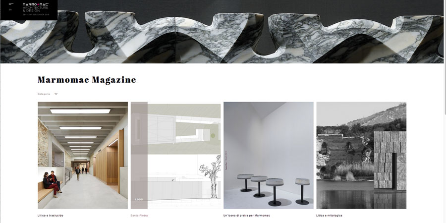 Marmomac Magazine: Discover the stone experience