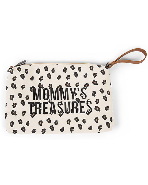 Mommy's Treasures leopardato - pochette Childhome